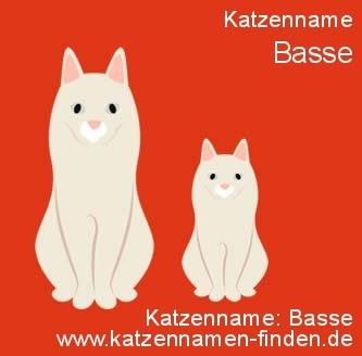 Katzenname Basse - Katzennamen finden