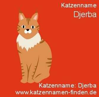 Katzenname Djerba - Katzennamen finden