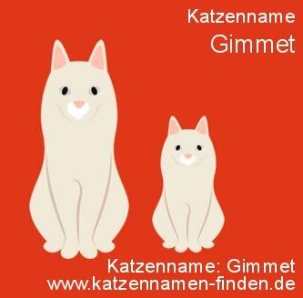 Katzenname Gimmet - Katzennamen finden