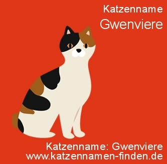 Katzenname Gwenviere - Katzennamen finden