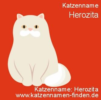 Katzenname Herozita - Katzennamen finden
