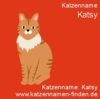 Katzenname Katsy - Katzennamen finden