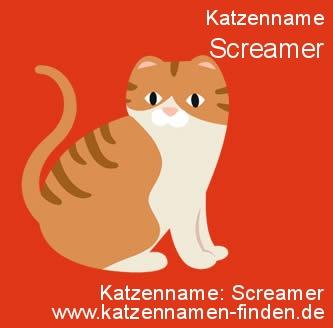 Katzenname Screamer - Katzennamen finden