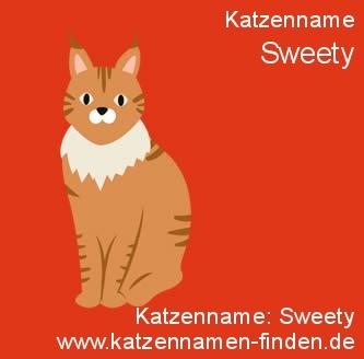 Katzenname Sweety - Katzennamen finden