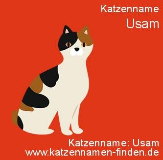 Katzenname Usam - Katzennamen finden