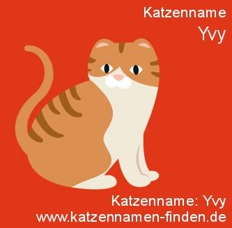 Katzenname Yvy - Katzennamen finden