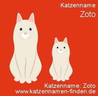 Katzenname Zoto - Katzennamen finden