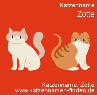 Katzenname Zotte - Katzennamen finden